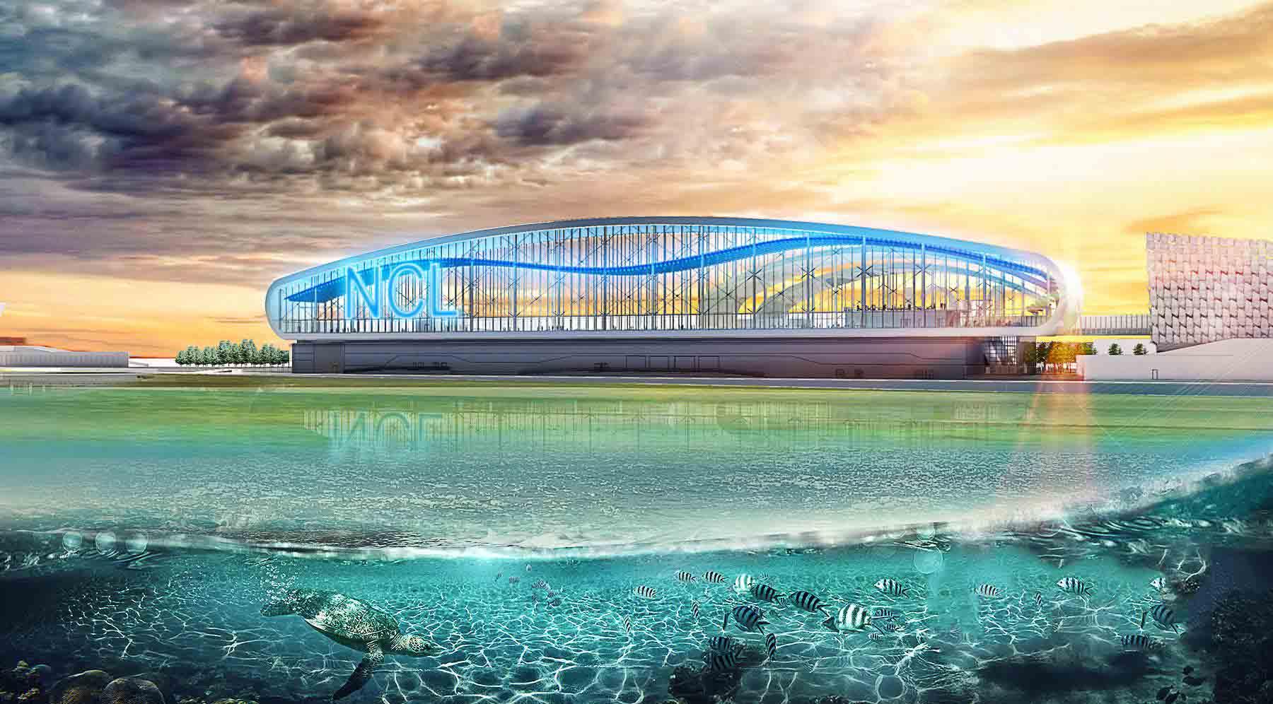 נורביג'יאן תבנה טרמינל במיאמי