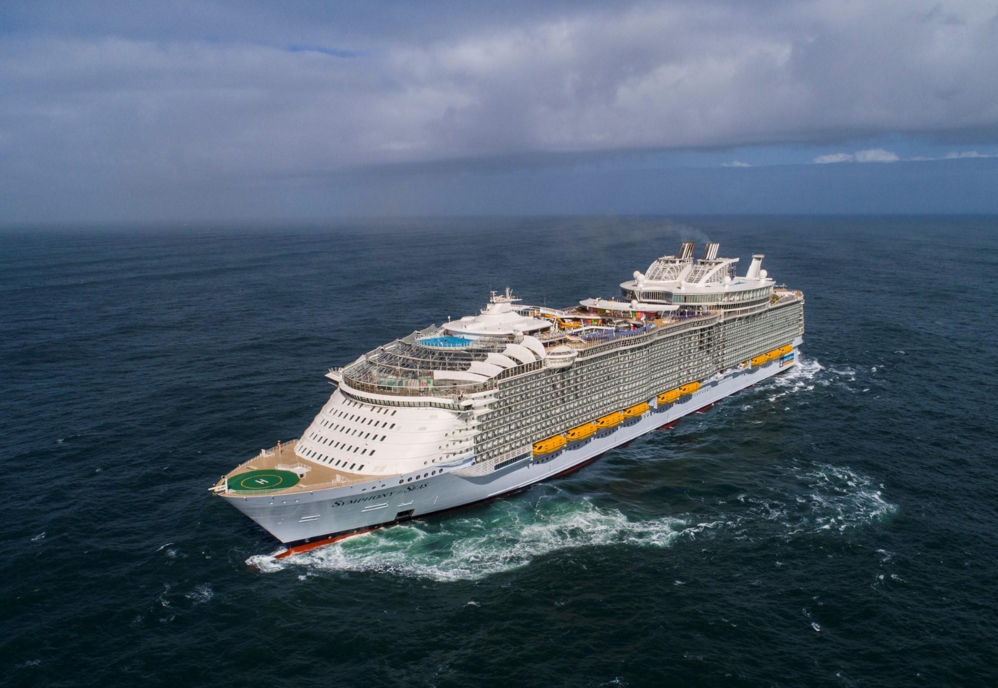 רויאל קריביאן השיקה האוניה הגדולה בעולם
