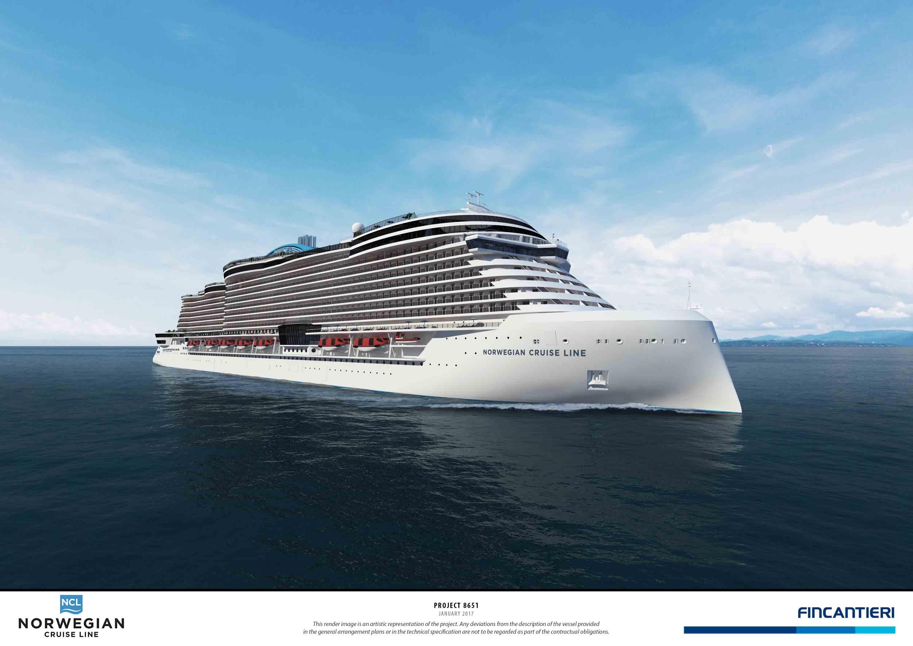 נורביג'ן מגדילה את צי האוניות