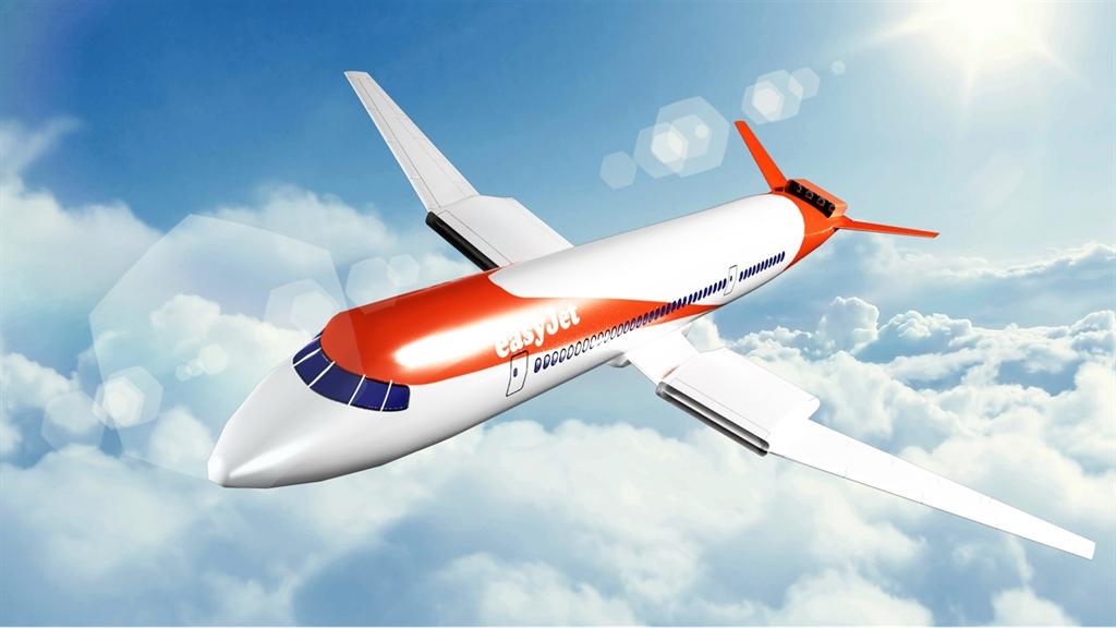 איזי ג'ט החלו לפתח מטוס חשמלי