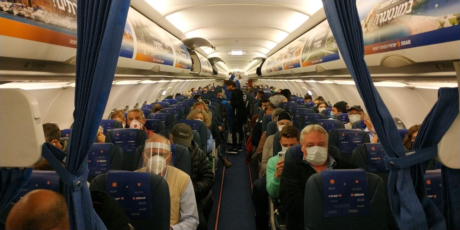 ישראייר ממשיכה בטיסות חילוץ רבות