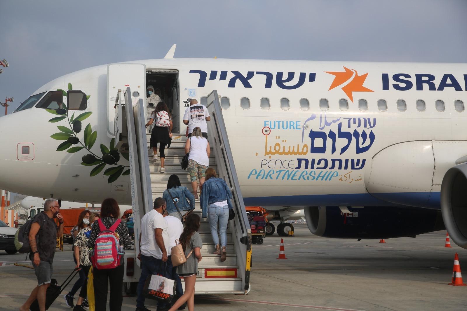 ישראייר תפעיל טיסה יומית לדובאי