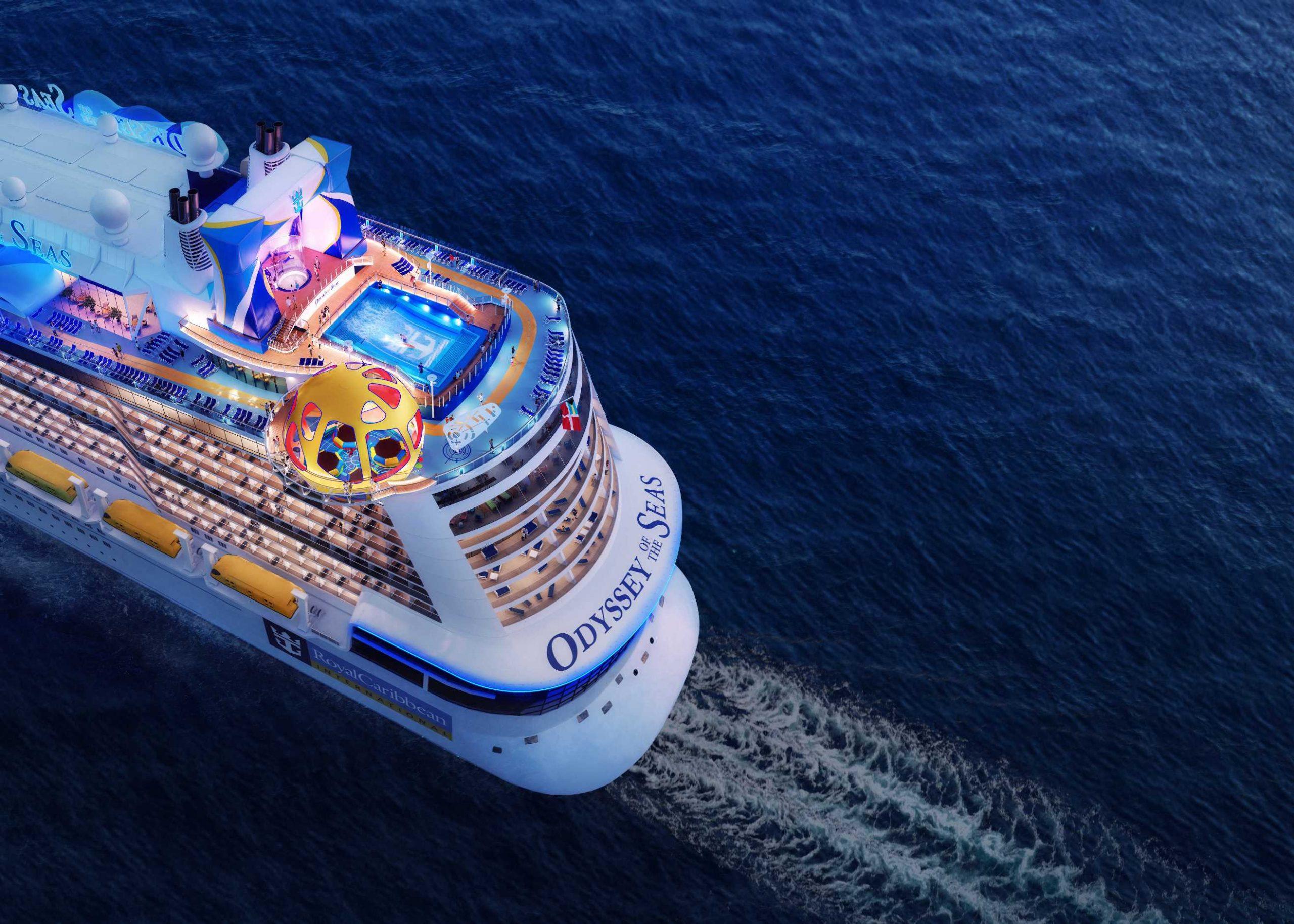 רויאל קריביאן חוזרת לעסקים עם אוניה חדשה