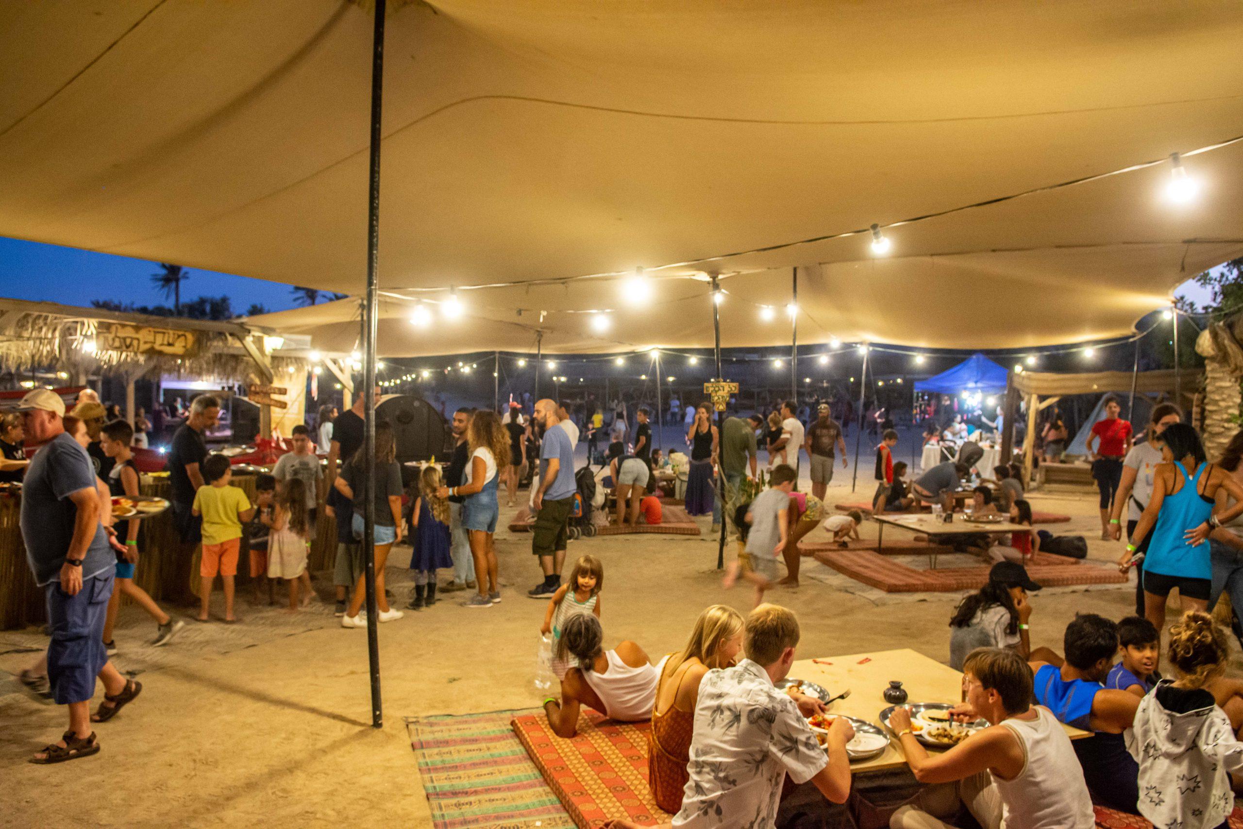 כפר הנוקדים מציגים: פסטיבלים במדבר