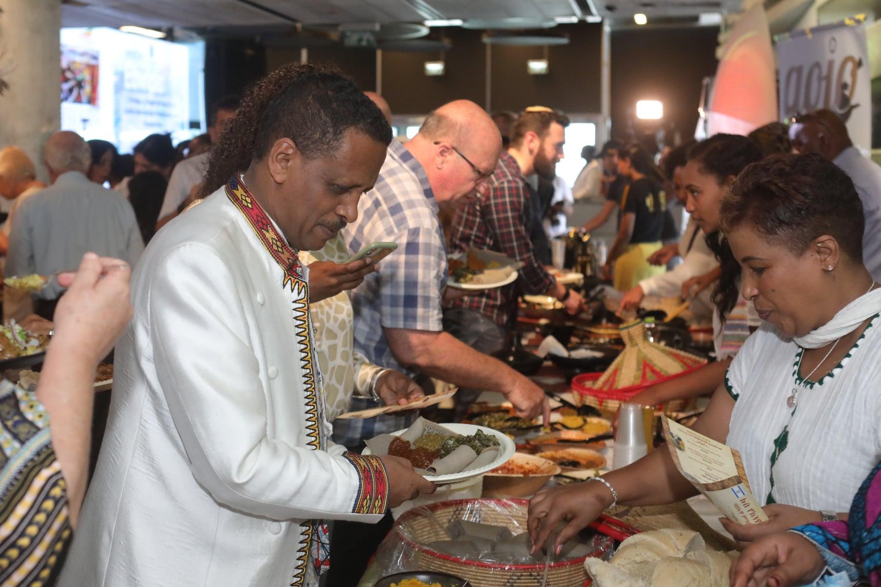 חגיגת טעמים ותרבות אתיופית בתל אביב