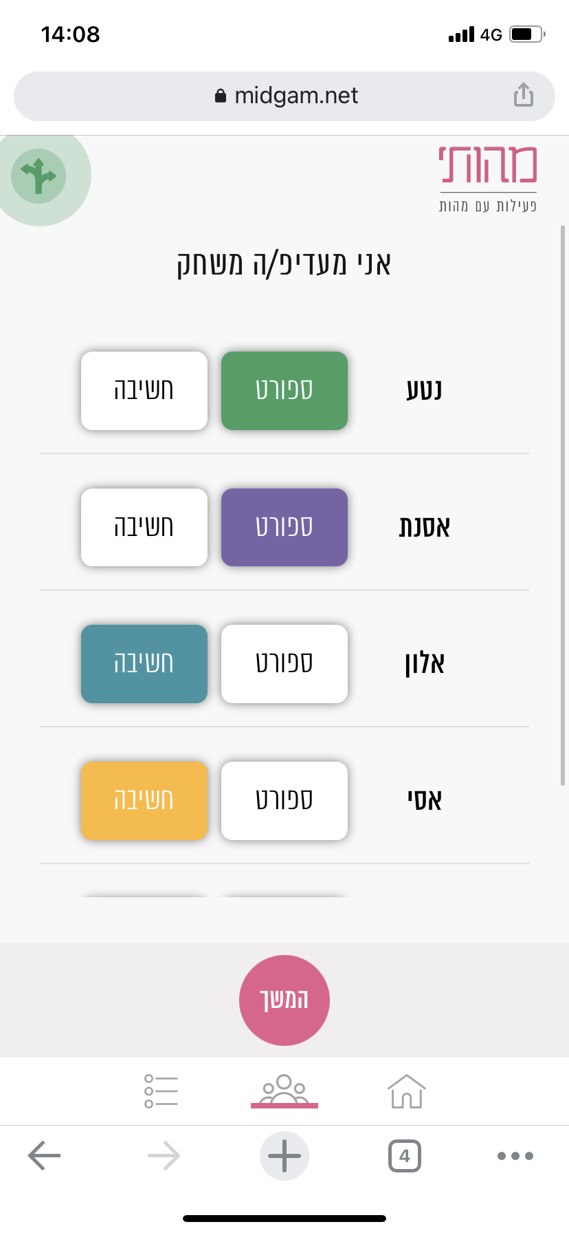 אפליקציה 'זמן משפחתי' לטיולים
