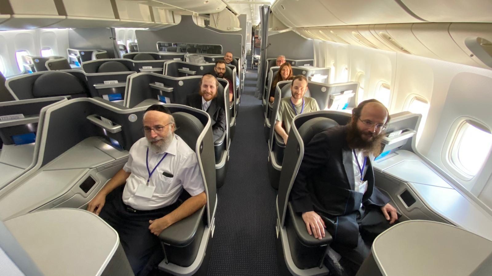 סיור לימודי על סיפון מטוס AA