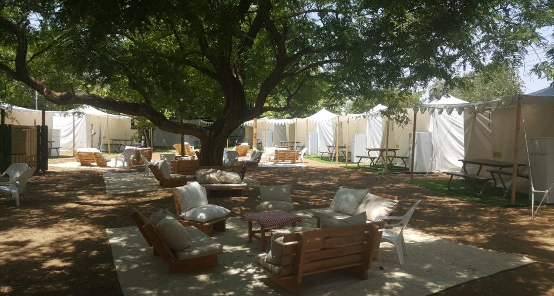מתחם קמפינג חדש בקייקי כפר בלום
