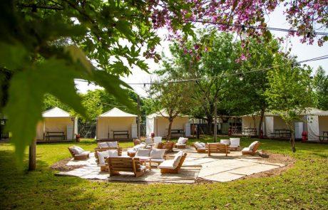 מתחם קמפינג חדש בכפר בלום