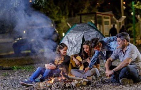 חניון קמפינג חדש ביער השלום בירושלים