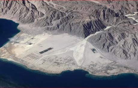 נואיבה- שם התרחש נס קריעת ים סוף