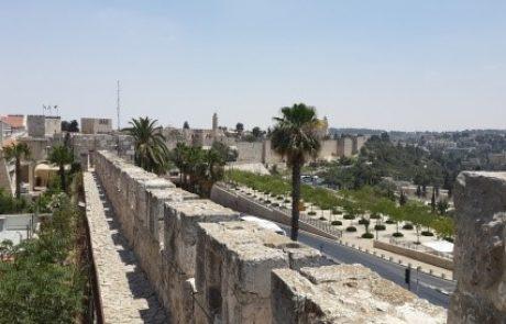 טיילת חומת ירושלים נפתחת מחדש לאחר הסגירה עקב הקורונה