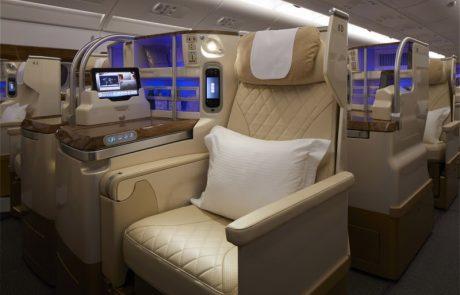 אמירייטס חושפת עיצוב חדש לתא הנוסעים