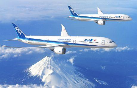 עסקת ענק של ANA לרכישת 20 מטוסי דרימליינר