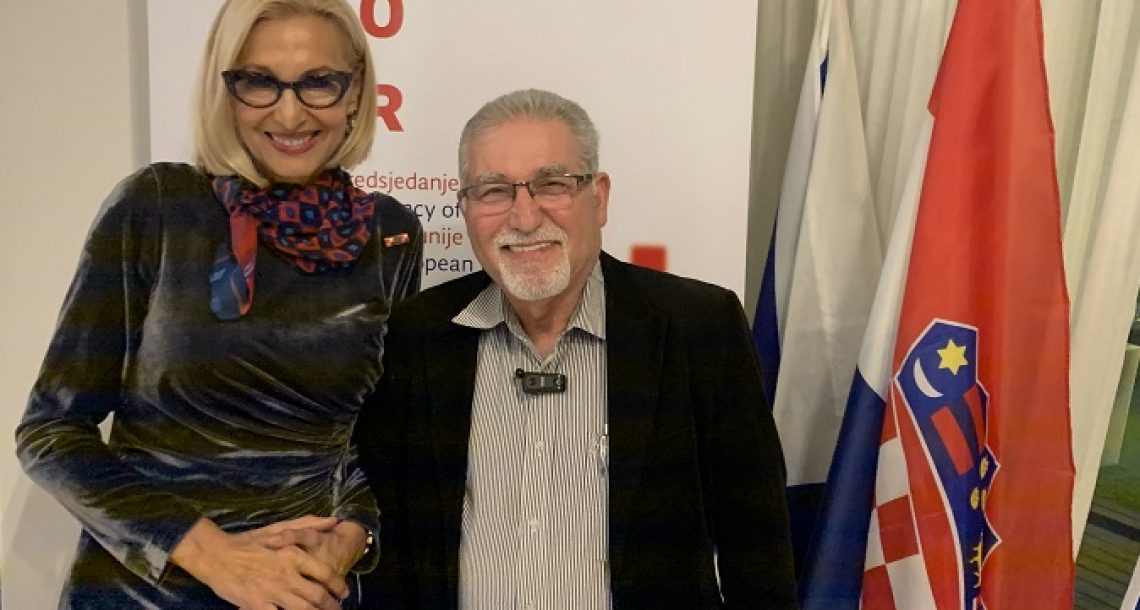 """קרואטיה חגגה בת""""א 28 שנות עצמאות"""