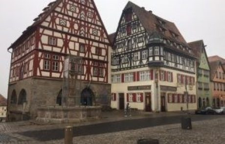 Visit Rothenburg of the holy MAHARAM