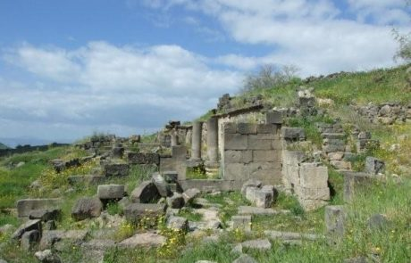 בית הכנסת העתיק בכנף בגולן